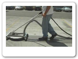 Flat surface cleaner with vacuum - Pressure Washer